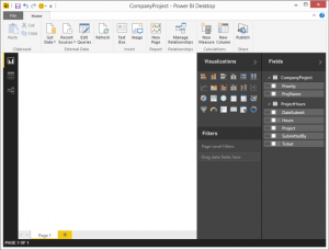 Power BI Desktop elaborar informes