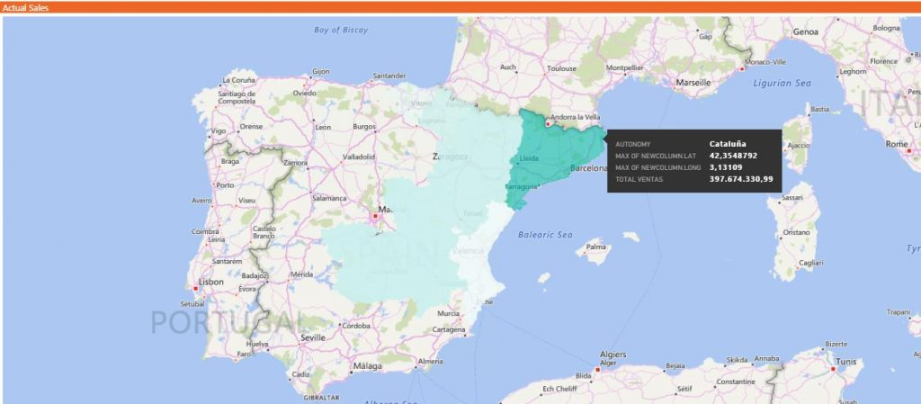 Mapas Coropleticos Power BI