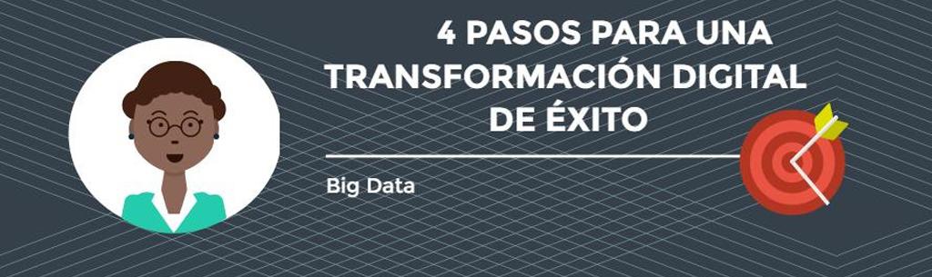 Transformación digital: 4 pasos para tener éxito dentro de la empresa