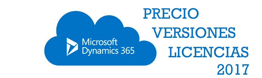 Microsoft Dynamics 365: Precio, versiones y licencias