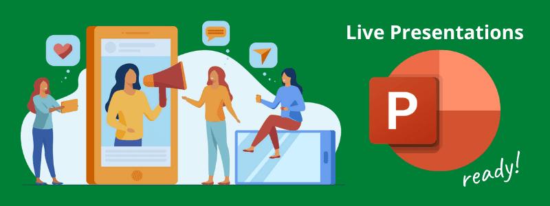 Presentaciones en vivo de Power Point, una mejora a las presentaciones en línea