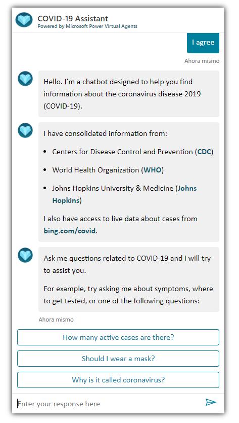 Power Platform está ayudando en la gestión, coordinación y comunicación de las empresas durante el COVID-19