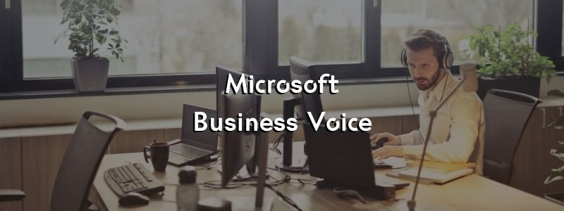 Microsoft Business Voice, qué es y cómo funciona.